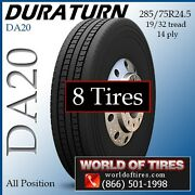 285/75r24.5 All Position Tires Duraturn