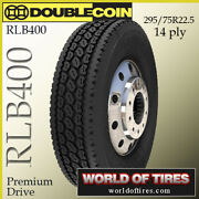 Double Coin Rlb400 4 Commercial Tires 295/75r22.5 With Free Shipping