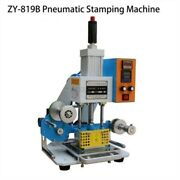 220v Pneumatic Hot Foil Stamping Machine 8090mm Printable Area New Rm