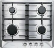 Miele Km360g 24 Inch Natural Gas 4 Sealed Burner Gas Cooktop In Stainless Steel
