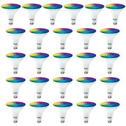 Sunco 26 Pack Par38 Led Smart Bulb 13w, Color Changing, Dimmable, Alexa And Google