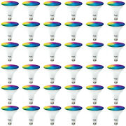 Sunco 36 Pack Par38 Led Smart Bulb 13w, Color Changing, Dimmable, Alexa And Google