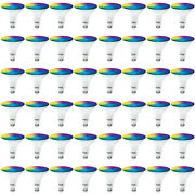 Sunco 48 Pack Par38 Led Smart Bulb 13w, Color Changing, Dimmable, Alexa And Google
