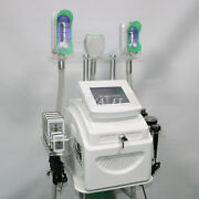 Effective 3 Handles Cooling Freeze Vacuum Cold Machine For Fat Removal Slimming
