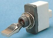 Apem Toggle Switch 3537-003n000 15a On-off-on Spst 24mm Actuator Screw