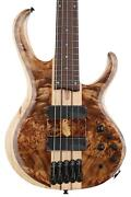 Ibanez Bass Workshop Btb845v Bass Guitar - Antique Brown Stained Low Gloss
