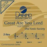Great Are You Lord [accompaniment/performance Track] - Audio Cd - Very Good
