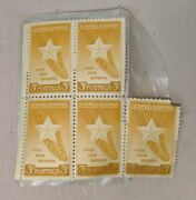 Us Postage Stamp 1948 Gold Star Mothers 3 Cent Stamps Lot Of 5