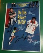 Do The Right Thing Photo Signed Spike Lee Danny Aiello Samuel Jackson Autograph
