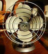 Vintage Ee Emerson Electric 1-speed 4-blade Oscillating Fan Model 9450 - Perfect