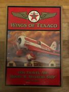 Wings Of Texaco 1930 Travel Air Model R Airplane Coin Bank 5th In Series