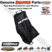 Snapper Briggs And Stratton Mower Door Bag Assembly / 7058571yp 58571 7058571