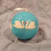 2013 Dillards Seven Swans A-swimming 7th In Series 12 Days Of Christmas Ornament