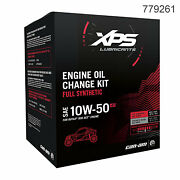Can-am Xps Synthetic Oil Change Kit Maverick X3 Max /turbo/ds/mr/rc/rs/max