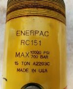 Enerpac Rc-151 Hydraulic Cylinder 15 Tons 10000 Psi 700 Bar   B1