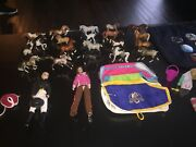 Breyer Horses Huge Lot 20 Stablemates 2 Riders + Accessories