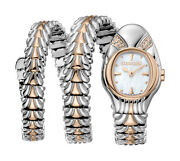 Roberto Cavalli Rv2l042m0066 Womens Rc-94 Mopdial Ss/rose Gold Double Wrap Watch