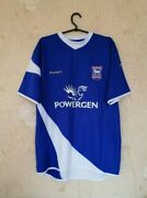 Ipswich Town Tractor Boys 2005 - 2006 Home Football Shirt Jersey Size L