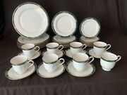 Lenox Kelly 39 Piece 8 Place Settings Dinner Salad Bread Plate Cup 7 Saucer