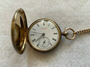 John Beesley Of Liverpool Mechanical Key Wind Vintage Pocket Watch With The Key