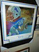 Detroit Lions Mint New In Package 1970and039s Rare Poster Suh Stafford Megatron Wow