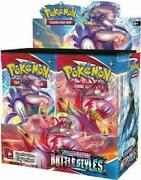Swsh Battle Styles Sealed Booster Box 36 Packs Of Authentic Pokemon Cards