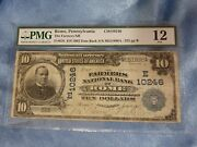 Extremely Rare The Only 1902 5 Date Back Rome Pennsylvania Pmg 12 Ch10246