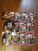 Vintage Star Wars Action Figures Lot Of 12. All Brand New Highly Collectible