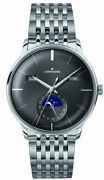 Junghans Meister Calendar Moonphase Self-winding Menand039s Watch 027/4505.45