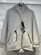 Mackage Parka Men. Size L. 2019 Style. Wool/cashmere/duck Down/leather. New