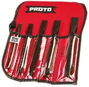 Stanley Proto Cold Chisel Set 86c 5pcs Imperial, Heat-treated S2 Steelusa Brand