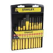 Stanley Punch And Chisel Set 4-18-299 12pcs Metric Forged Chrome Vanadium Steel