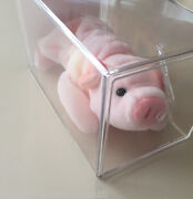 Very Rare Squealer The Pig Beanie Babykoreanwith Double Errors