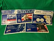 Lot Of 9 Us Mint Philadelphia Uncirculated Coin Sets - 1999-2007
