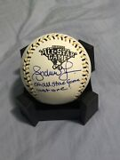 Andruw Jones Autographed Signed Official 2006 All Star Game Logo Baseball +insc