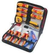 Rs Pro Insulated Pliers And Screwdrivers Set 12pcs Tape Measure Voltage Tester