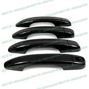 For 2018 2019 2020 2021 Honda Accord Glossy Black Side Door Handle Covers Trims