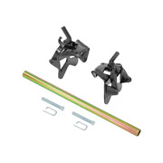 Draw-tite Snap-up Bracket Assembly Kit With Handle Black Powder Coat 6637
