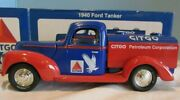Citgo Collectible Truck/bank 1940 Ford Tanker Pickup Truck 1/25 Scale