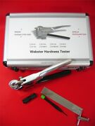 W-b75 Webster Hardness Tester For Copper / Copper Alloy New Ux