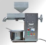 Stainless Steel 30kg/h Commercial Electric Hot And Cold Oil Press Machine New If