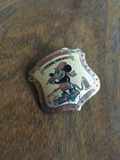 Vintage Early 1930and039s Mickey Mouse Fire Dept Badge - Extremely Rare