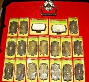 Nos 20 Amerock Carriage House Outlet Light Switch Plates Soap Dish Toilet Paper