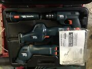 Black And Decker Versapak Tool Set With Two Batteries Cordless Tool Set.