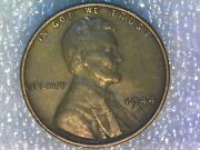 1944-s Lincoln Wheat Cent Penny Double Die Obverse And Rpm S/s