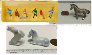 Choice Small Miniature Figures, Animals For Dollhouse / Different Scales