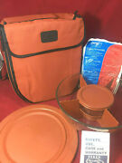 Pyrex Portables Serving Bowl Set With Insulated Carrier