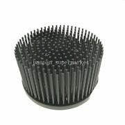 Round D140mm Pre-drilled Led Pin Fin Heatsink Fit For Cob Cxb3590 Led Chip