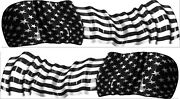 America Flag Usa Boat Car Truck Graphics Stickers Decals 10 Feet Set Waving