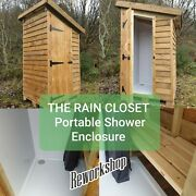 The Rain Closet Portable Outdoor Shower Enclosure/unit Camping Glamping Offgrid